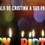 La canción regalo de Cristina a sus padres