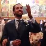 Sorpresa en una boda en forma de canción